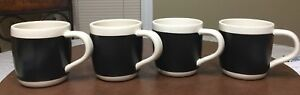 Set f 4 Starbucks Writable Mugs - 18 floz Each