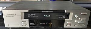 Akai VCR VHS Player Video Cassette Recorder Stanhope Gardens Blacktown Area Preview