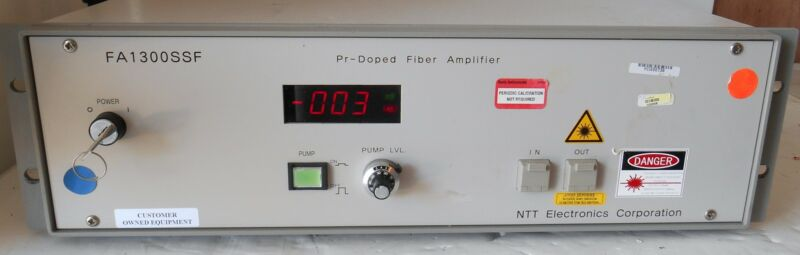 Ntt Electronics Fa1300ssf Pr-dopped Fiber Amplifier