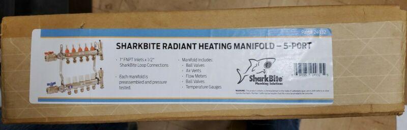 SharkBite  Baseboard Radiant Heating Manifold 5 Port Model #24932 Retail $334
