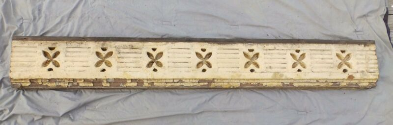 Antique Victorian Porch Gingerbread Span Vintage Architectural Pediment 2026-16