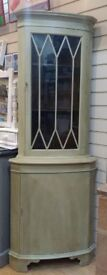 Corner Cabinet, painted with Annie Sloan