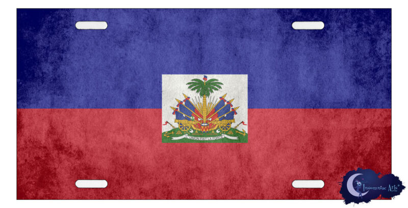 Flag of Haiti License Plate Cover - Haitian