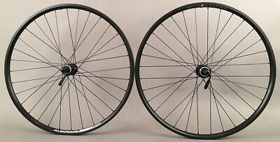 "Micargi Slugo 29/""x 4.0 Bike Rear Fat Wheel 7 spd w Disc Brake Black Green Polish"