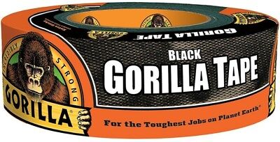"Gorilla Glue Black Gorilla Tape 1.88"" x 35 yd 1 ea (Pack of 5)"