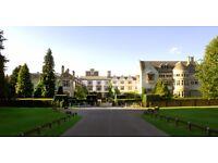 Various Vacancies at Coombe Abbey Hotel