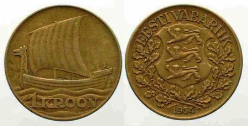 Estonia 1934 1 Kroon (KM16)
