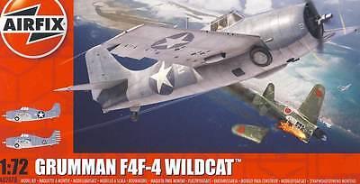 Airfix Grumman F4F-4 Wildcat VMF-223 US Marine Corps VF-6 - 1:72 Modell-Bausatz