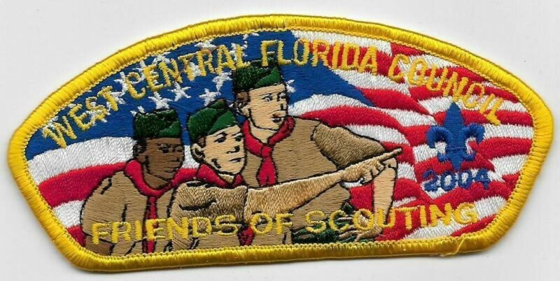 West Central Florida Council SA-7 2004 Friends of Scouting FOS CSP