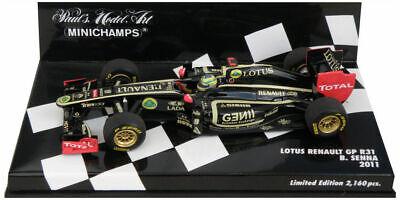 Lotus E20 Renault  Grosjean  Formel 1 Saison 2012  1:43 Minichamps 410120010