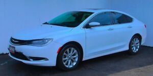 2015 Chrysler 200 C Nav. Back Cam/Panoramic Roof Leather P start