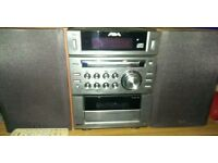 Aiwa (Made by SONY) mini HiFi system - MP3 etc