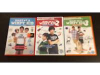 Set Of Three Diary Of A Wimpy Kid DVD