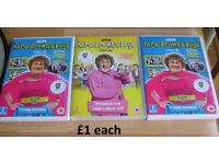 Mrs Browns Boys DVDS £1 each collection from didcot from a smoke and pet free home
