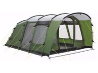 Outwell Glenwood 600 Tent including 600 awning, 600 footprint and 600 carpet - used twice