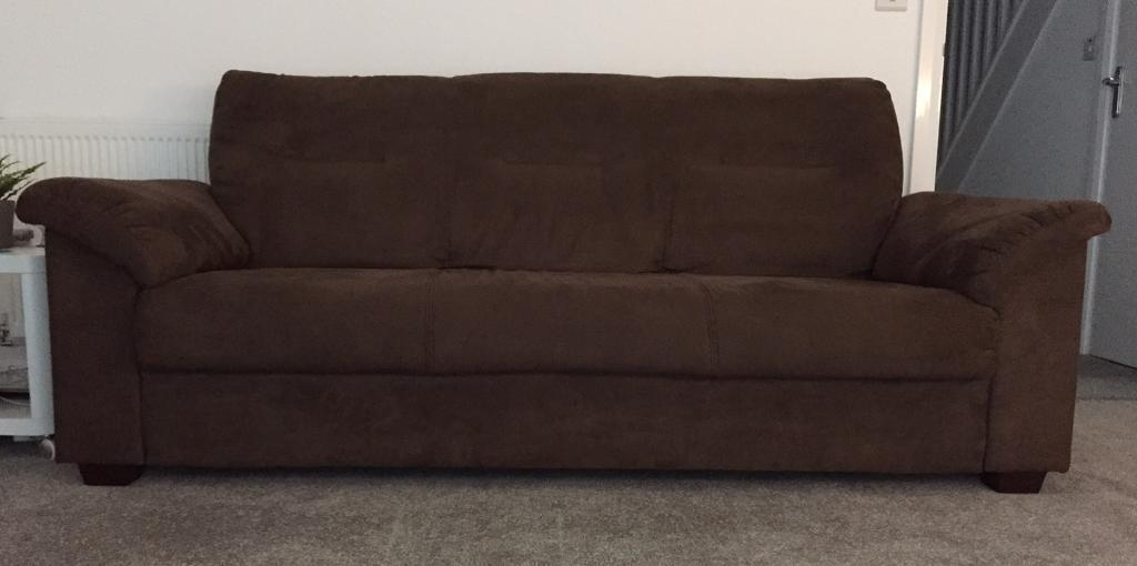 Ikea Knislinge Sofa Kungsvik Dark Brown In Middleton