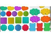 Push pop fidget various designs and colours available £3.99