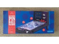 Electronic mini pinball machine