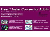 FREE IT taster courses next week in Colchester!