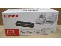 New Canon FX3 Black Laser Toner Cartridge
