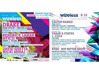 """ tickets to wireless this SAT for £150"