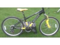 """Mountain Bike 24"""" Wheels Suit 9-11yr Kids Top Spec"""