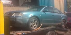 AUDI A6 QUATTRO FOR BREAKING 2.8 V6 AUTOMATIC 1998 - 2005 SPARES PARTS LEEDS WAKEFIELD