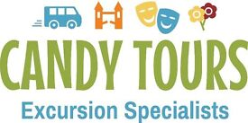 Minibus drivers with D1 and CPC - part/full time - Hampshire and Surrey - Family excursions business