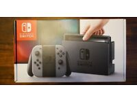 Nintendo Switch 32GB Grey Console (with Grey Joy-Controller)