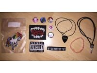 Emo / alternative / goth / My Chemical Romance / Black Veil Brides jewellery and accessories