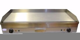 Electric Griddle / Hotplate 1 meter long Flat Commercial Grade Stainless Steel Heavy Duty