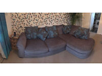 Corner Sofa only few months old very good condition