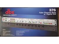 DBX 376 Tube Channel Strip (Brand New)
