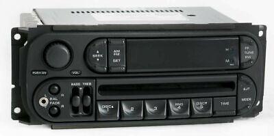 2007 Jeep Liberty AM FM Radio CD Player w Auxiliary P05064354  - RBK Slider Ver