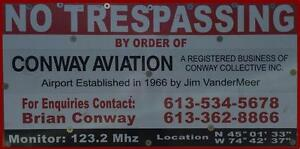 Aircraft Hangers, and Tie Downs for Rent Cornwall Ontario image 2