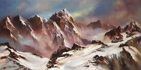 Philip Gray Hand Signed Limited Edition of 75 'Path to the Peak'
