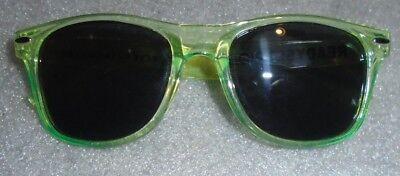 neon yellow unisex sunglasses advertising Ready Set Rio Olypics training (Sunglasses Sites)