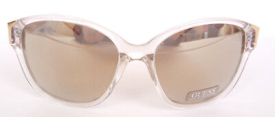 Guess Women mirrored sunglasses GU 7324 CRY-3F 100% UV protection NEW