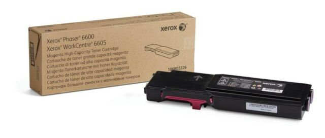 Xerox (Magenta) Toner Cartridge (Yield 2,000 Pages) for Phaser 6600