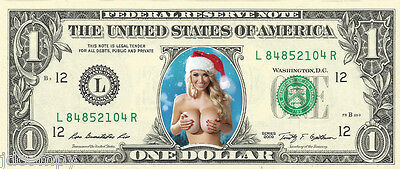 Santa's Naughty Helper (Ho Ho Ho #3) {Color} Dollar - Christmas- REAL Money