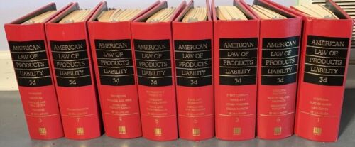 American Law of products liability 1-8