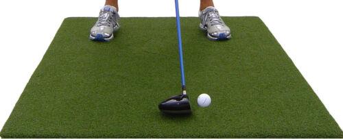 """Backyard Golf Mat 36"""" x 60"""" Pro Residential Practice Golf Mat Roll Down Fairway"""