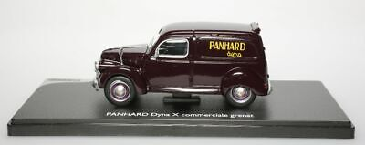Panhard Dyna X commerciale grenat 1/43