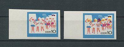 DDR PH 1432 PIONIERE 1968 2 PHASENDRUCKE Mi 180.- MUSIC SCOUTS PROOFS RARE d875