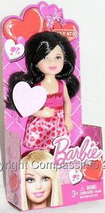 2013-Barbie-Sister-Kelly-Valentine-Chelsea-Brunette-Doll-Renee