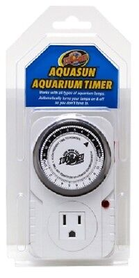 Zoo Med Aquasun Dual Timer For Aquarium/Terrarium Lighting Filter Heat