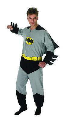 Batman Onesie Kostüm Original für - Mens Batman Onesie