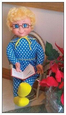 Nostalgic Mrs. Beasley Doll Laminated Fridge Magnet!