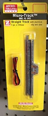 Micro-trains Z  feeder 110mm straight track with wire 99040905