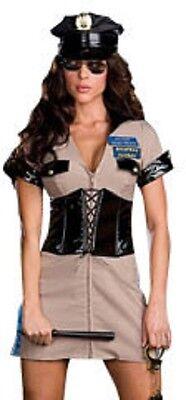 Highway Patrol Officer Dusty Rhodes Dreamgirl Costume 6515 - Patrol Officer Kostüm